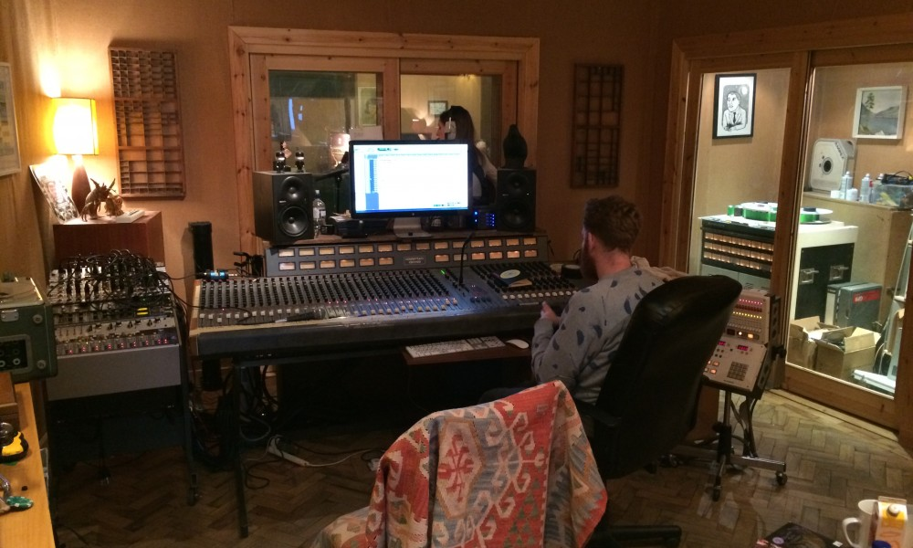 Production on Alice Watts upcoming Album
